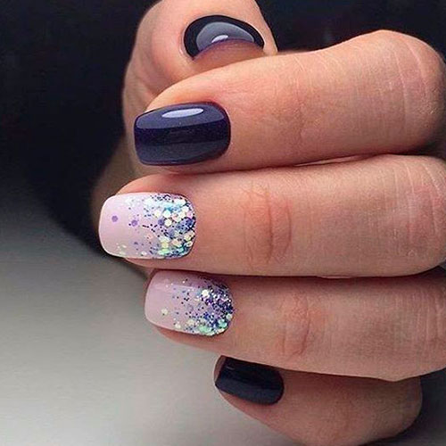 Uñas Decoradas Con Gelish