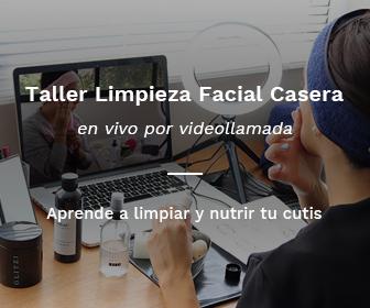 taller limpieza facial casera