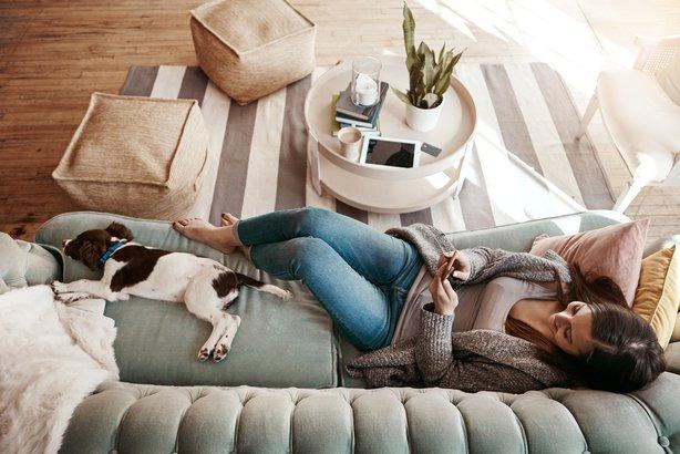 Crea un espacio tranquilo y confortable- espacio confortable