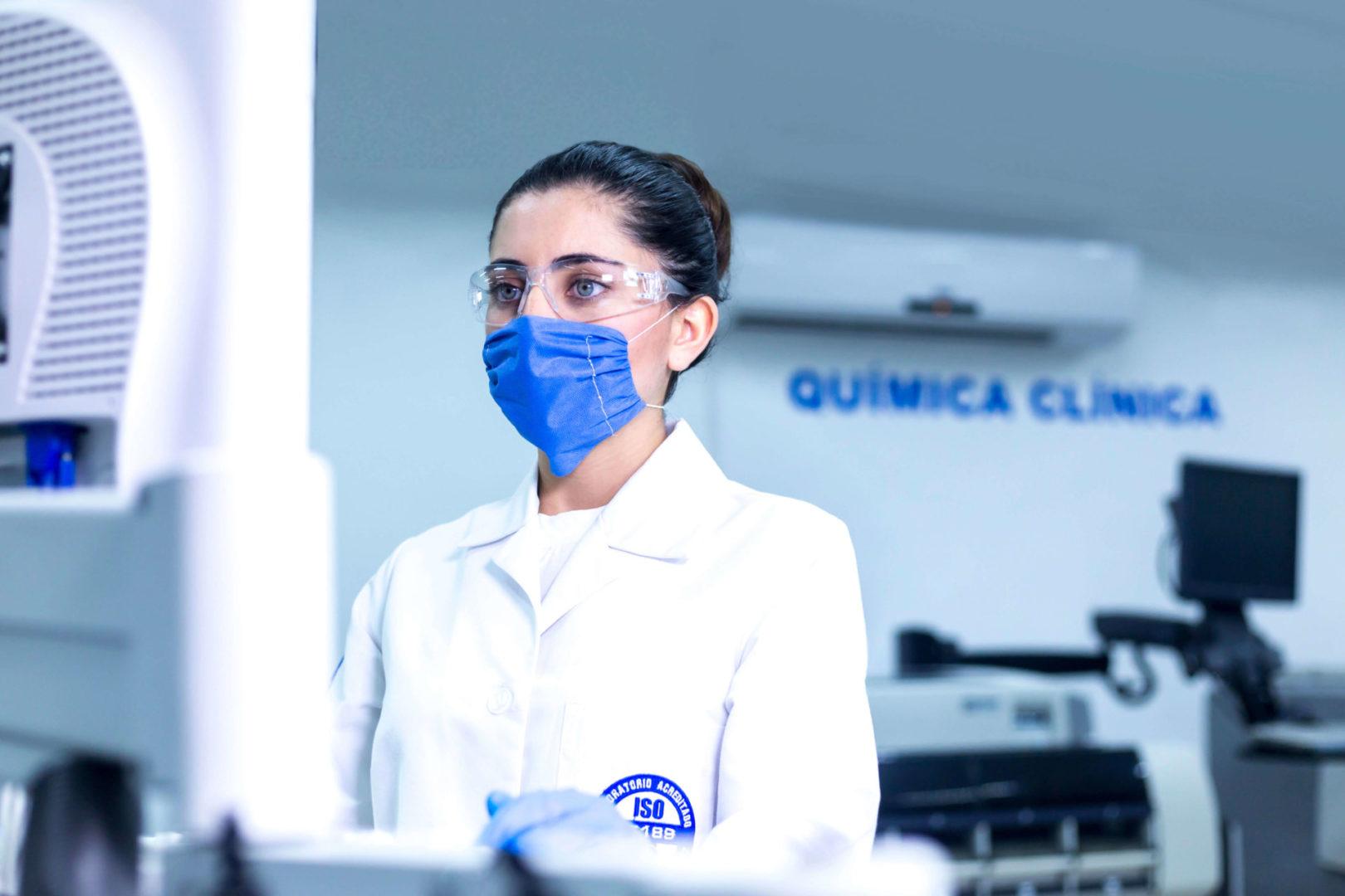 prueba de laboratorio para detectar covid1-9