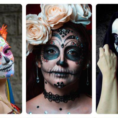 Ideas de maquillaje para Día de Muertos