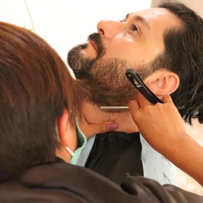Servicio de barbería a domicilio, ellos también se ponen bellos