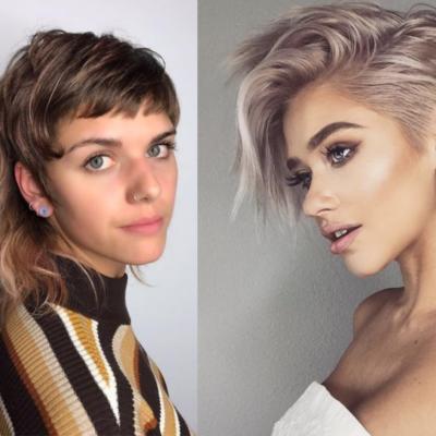 Peinados para cabello corto, tendencias 2021