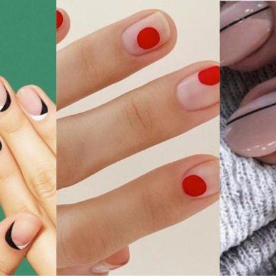 Uñas minimalistas, una tendencia que te encantará